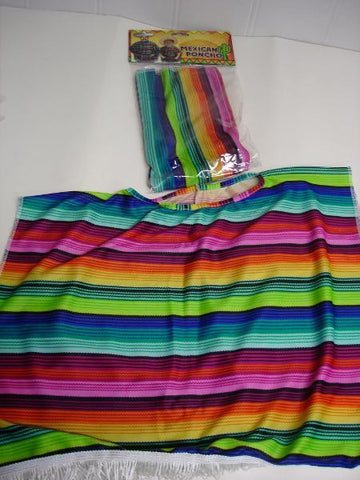 Costume - Mexican Poncho (Child)