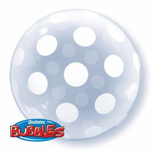 "Bubble Balloon 20"" - Deco Big Polka Dots"