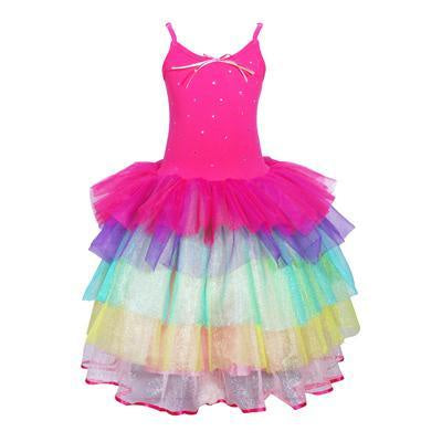 Costume - Carnival Ruffle Dress Hot Pink (Child)
