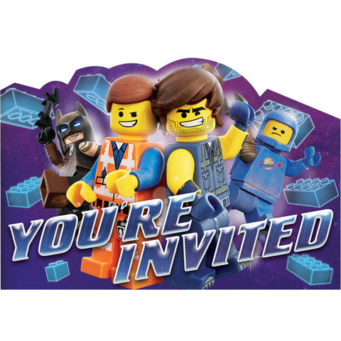 Invitations - The Lego Movie Postcard