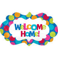 Foil Balloon Supershape - Welcome Home Spots
