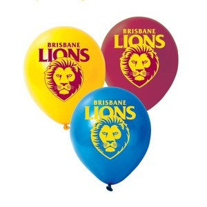 "AFL 11"" Print Latex - Brisbane Lions"