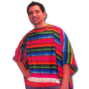 Costume - Mexican Poncho Serape (Adult)