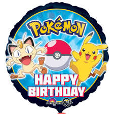 "Anagram Licensed Foil 18"" Pokemon Birthday"