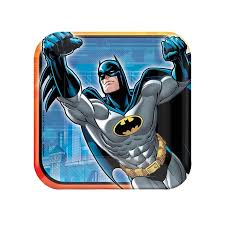 "Batman 7"" Square Plate"