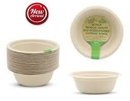 Bowls - Eco Biodegradable Catering Plates Bowl