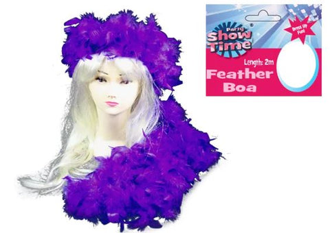 Feather Boa - Purple 2M