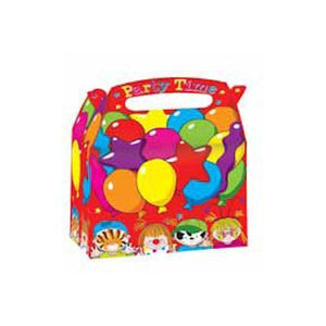 Loot Bags - Balloons Party Boxes Pk 4