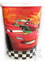 Printed Paper Cups - Disney Cars Pk 8