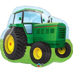 Foil Balloon Supershape - Farm Tractor