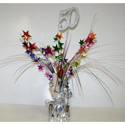 Balloon Weight - 50th Centerpiece