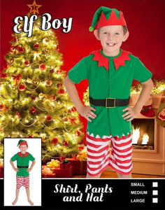 Costume - Boy's Elf
