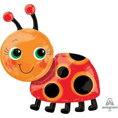 Foil Balloon Supershape - Miss Lady Bug