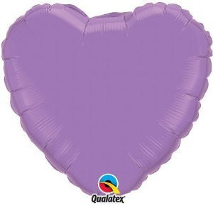 "Foil Balloon 18"" - Heart (Lilac)"