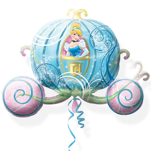 Foil Balloon Supershape - Disney Princess Cinderella Carriage