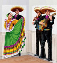 Scene Setter Add Ons - Dancers & Mariachi 2 Pc