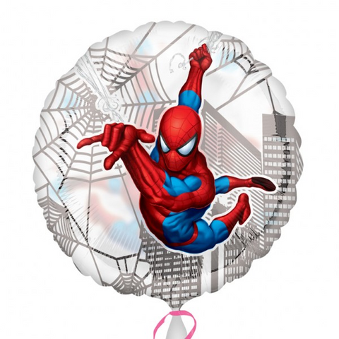 "Foil Balloon 18"" - Spiderman Web"