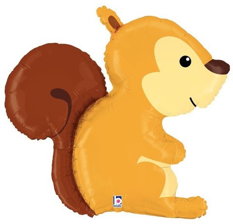 Foil Balloon Supershape - Woodland Squirrel