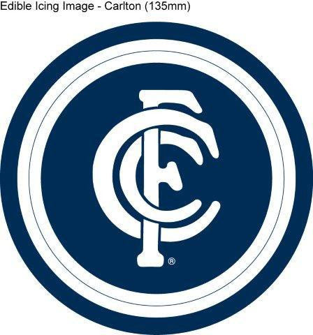 Edible Icing Image - AFL Carlton Blues
