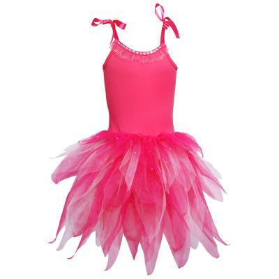 Costume - Fairy Pixie Dress Hot Pink (Child)