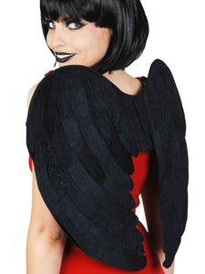 Wings - Fabric Black 46cm
