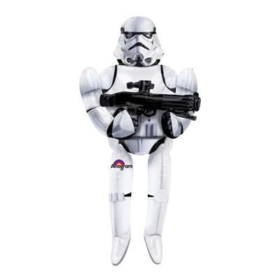 Foil Balloon Air Walker - Star Wars Storm Trooper