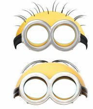 Party Hat Masks - Despicable Me Minions Pk 6