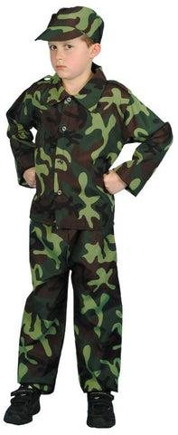 Costume - Army Soldier (Child)