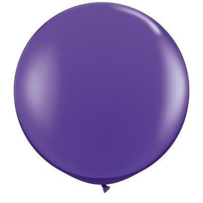"Qualatex 36"" Fashion Latex - Purple Violet"