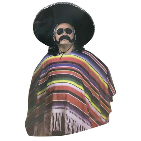 Costume - Mexican Poncho (Adult Size)