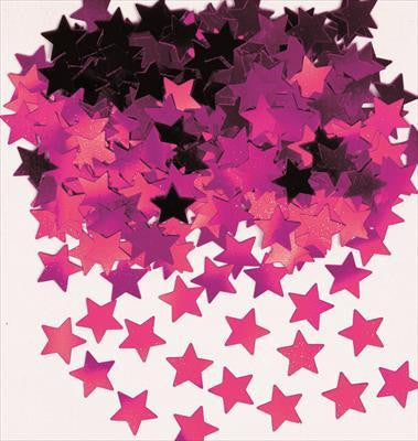 Confetti Scatters - Stars Pink 10mm