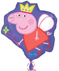 Foil Balloon Supershape - Peppa Pig With Wand