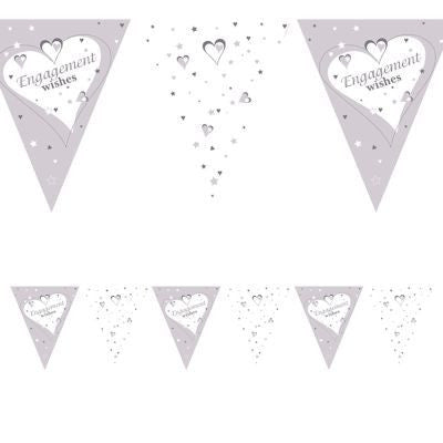 Bunting Flags - Engagement Wishes