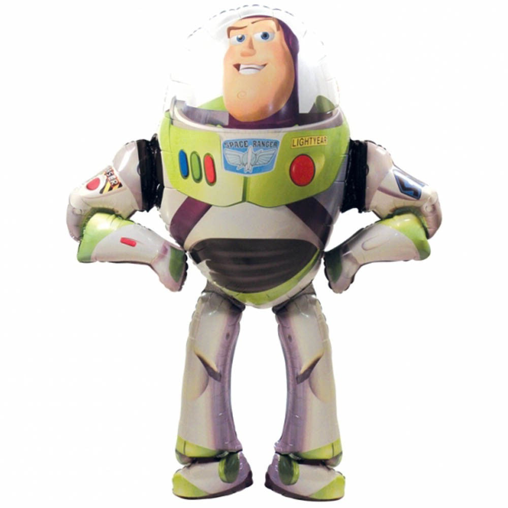Foil Balloon Air Walker - Toy Story Buzz Lightyear