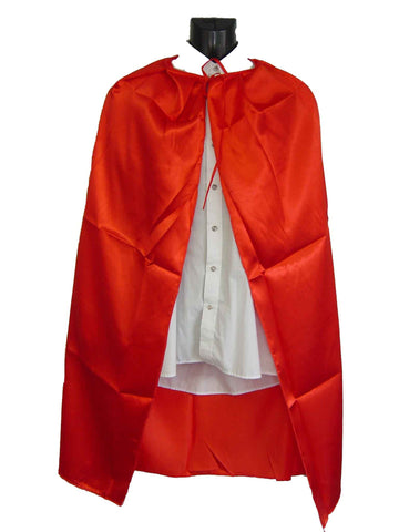 Cape - Red Satin 1.1m (Child)