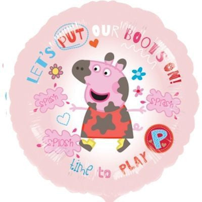 "Foil Balloon 18"" - Peppa Pig Time to Play"