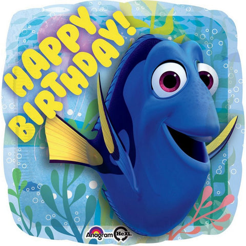 "Foil Balloon 18"" - Finding Dory Happy Birthday"