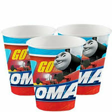 Paper Cup - Thomas All Aboard Pk8