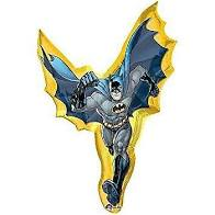 Foil Balloon Supershape - DC Batman Action Shaped Balloon