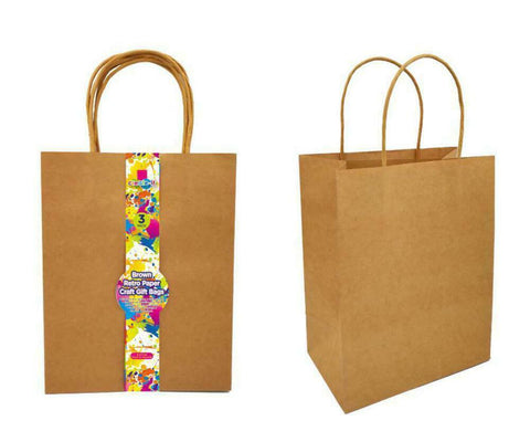 Craft DIY Gift Bags 3pk 20*25.5*12