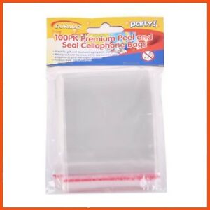Cello Bags Small pk100 - 10cm x 7.5cm