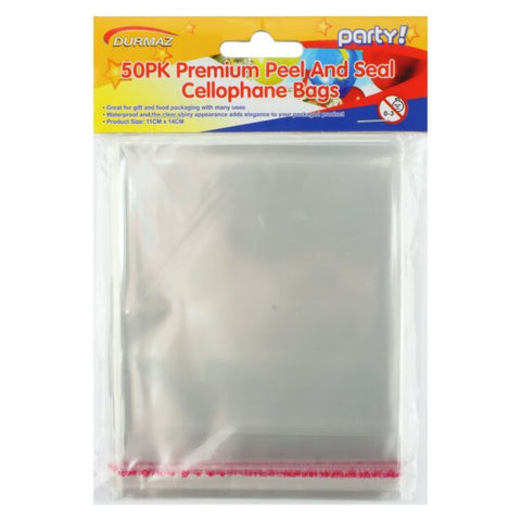 Cello Bag Clear 11 x 14cm