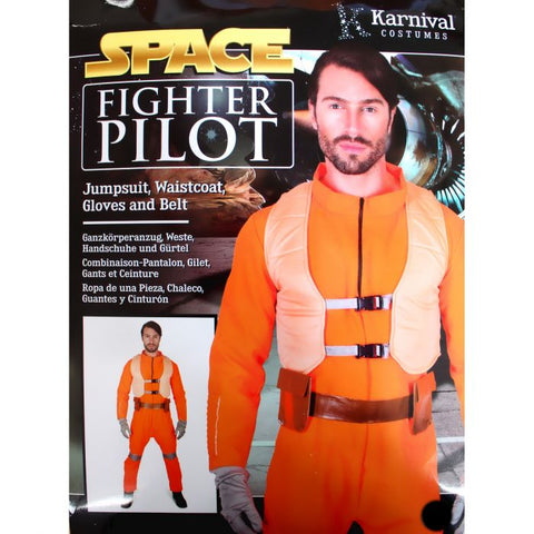 Costume - Adult Space Fighter Pilot (XL size)