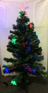 Christmas Light Up tree - 90cm 12LEDS