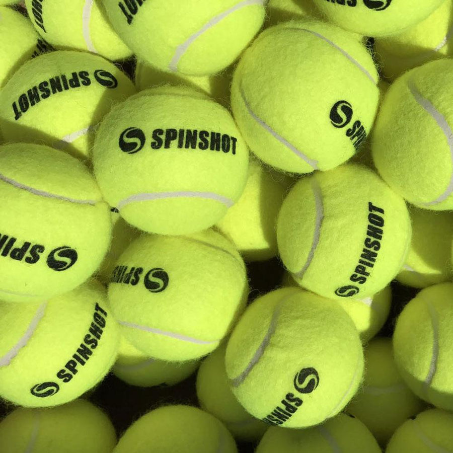 Spinshot Pressureless Tennis Balls x 60