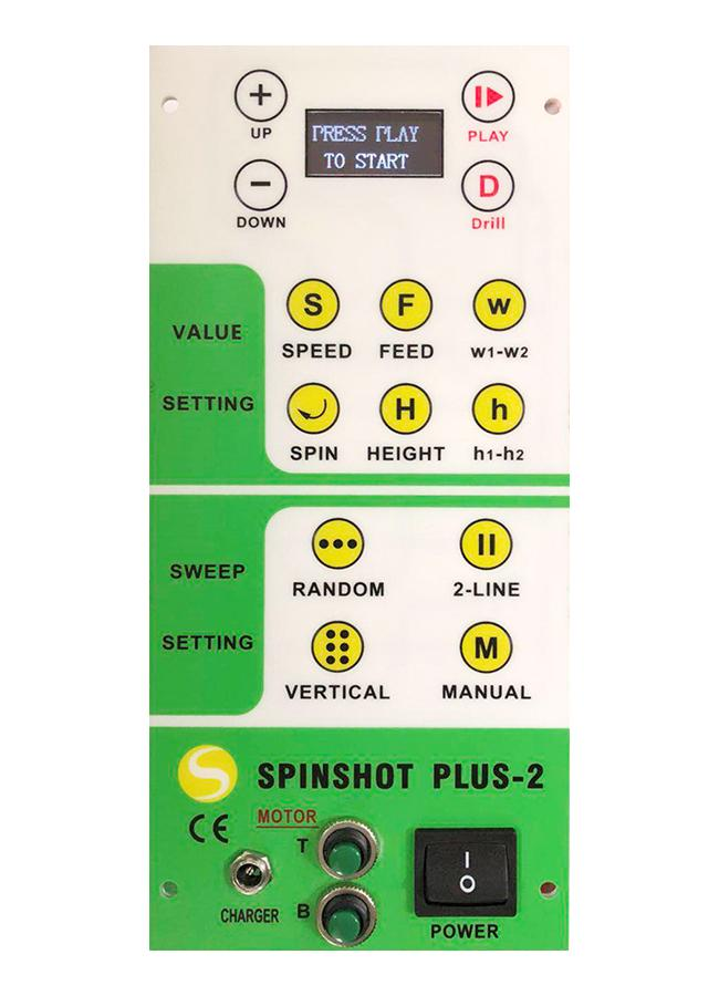 Spinshot Plus-2 High Speed Tennis Ball Machine