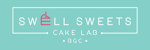 swell sweets cake lab, logo