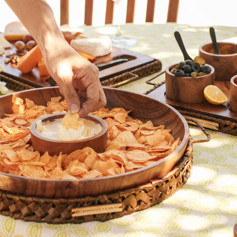 Lila Chips & Dip Set, Domesticity x Lanai, Domestic Bliss, Blog, Domesticity
