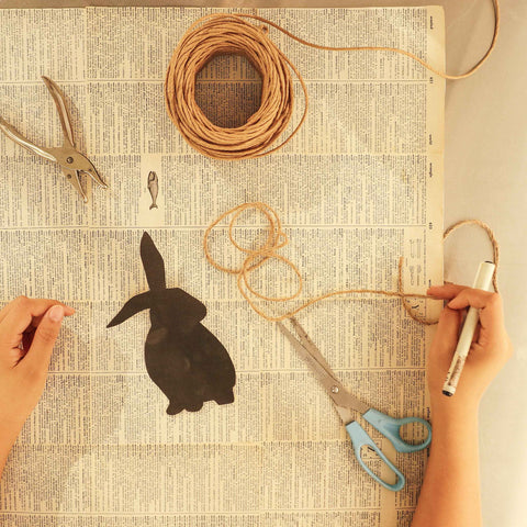 DIY Easter Bunny Buntings