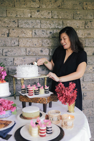 joyce urieta, the delightful miss joyce, cake artist, wedding cakes, online gift registry, bridal registry, wedding registry
